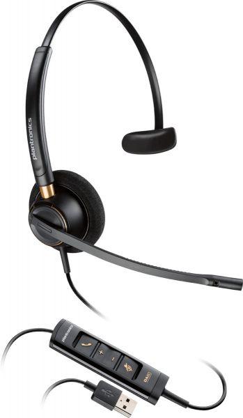 Plantronics Headset EncorePro HW515 monaural USB