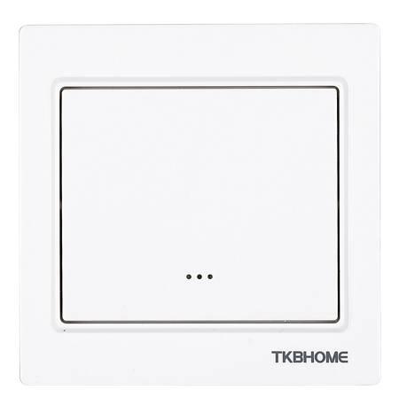 TKB Home Wanddimmer mit Einfach-Wippe (Eckiger Rahmen)