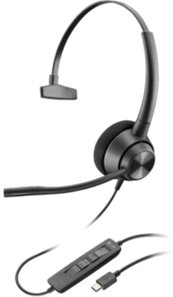 Plantronics Headset EncorePro 310 monaural USB-C