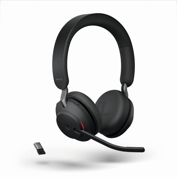 JABRA Evolve2 65 Stereo MS USB-A Bluetooth Tischlade black